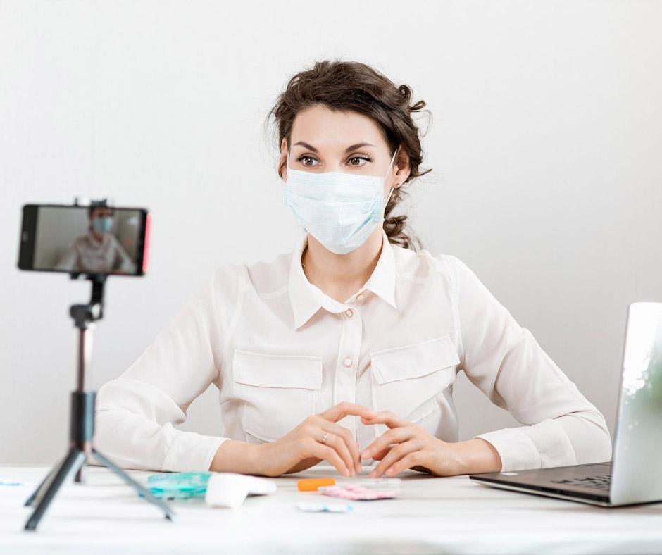 criar conteúdo vídeo clínica