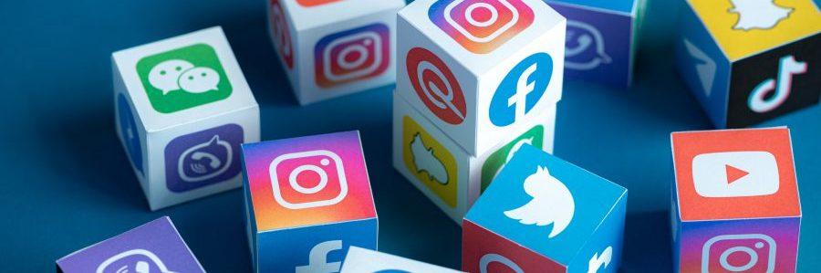 redes sociais para loja online
