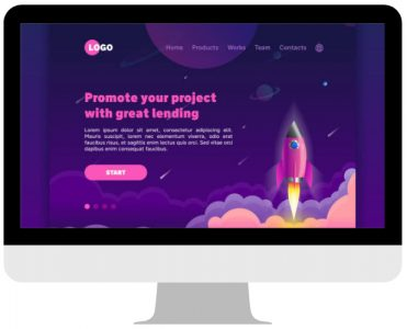Landing page exemplo